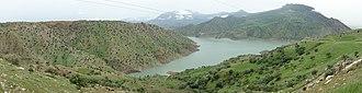 Diyala River - Image: Lake Darbandikhan