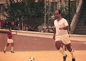 Algerian Ligue Professionnelle 1 - The footballer Hacène Lalmas that made the heyday of CR Belouizdad between 1962–1963 and 1972–1973 seasons.