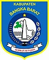 Official seal of West Bangka Regency