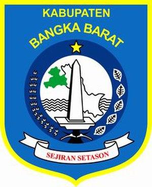 West Bangka Regency - Image: Lambang Kabupaten Bangka Barat