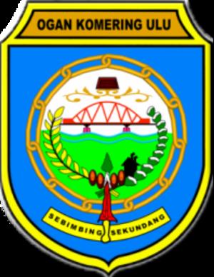 Ogan Komering Ulu Regency - Image: Lambang Kabupaten Ogan Komering Ulu
