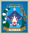 Official seal of Sleman