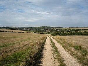 Lambourn - Footpath to Lambourn