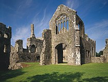 Lamphey Bishops Palace- Beautiful remains dating back to the 14th Century.jpg