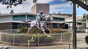 Thousand Oaks High School - Lancer statue