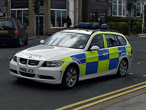 Lancashire Constabulary - BMW 5 Series