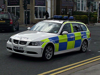 Lancashire Constabulary - BMW 3 Series Tourer (Estate)