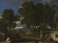Landscape with a Man washing his Feet at a Fountain - National Gallery NG40.jpg