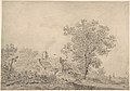 Landscape with cottages and a figure by a cart MET DP800495.jpg
