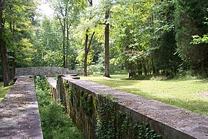 Landsford Canal State Park - Image: Landsford Canal Stone Lock