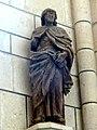 Laon (02), cathédrale Notre-Dame, croisillon nord, statue de saint Jacques.jpg