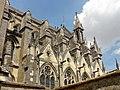 Laon (02, cathédrale Notre-Dame, chœur, vue depuis le sud-ouest.jpg