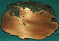 Large native copper amygdule (Mesoproterozoic, 1.05-1.06 Ga; Ahmeek Mine, Ahmeek, Upper Peninsula of Michigan, USA) 2 (17100509727).jpg