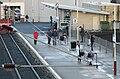 Largs station ticket office and platform.jpg