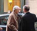 Larrivée de Roland Dumas au Palais royal pour les 50 ans du Conseil constitutionnel (3332080333).jpg