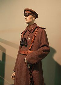 Latvian Riflemen uniform in Riga.JPG
