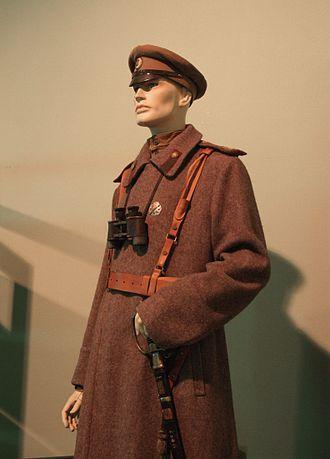 Latvian Riflemen - Image: Latvian Riflemen uniform in Riga