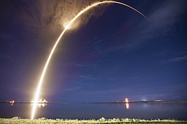 Launch of Falcon 9 carrying ASIASAT 6 (16169087563).jpg