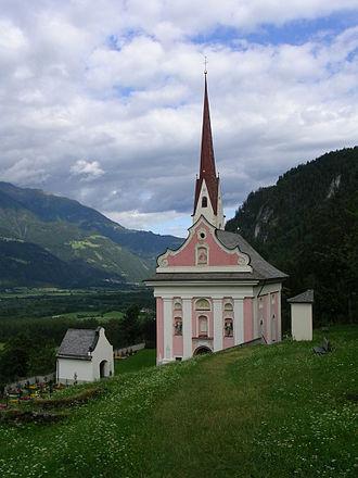 Lavant, Tyrol - St. Ulrich Pilgrimage Church, Lavant, Austria