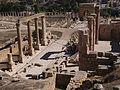 Le Décumanus Nord - Jerash - novembre 2014 05.jpg
