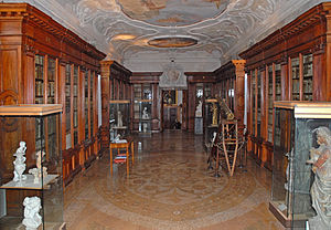 San Lazzaro degli Armeni - The library room