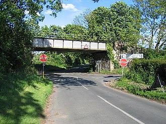 Leek Wootton - Modern bridge