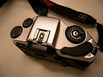 Leica R8-R9 - Top view.