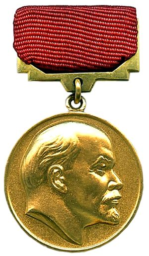 Lenin Prize badge