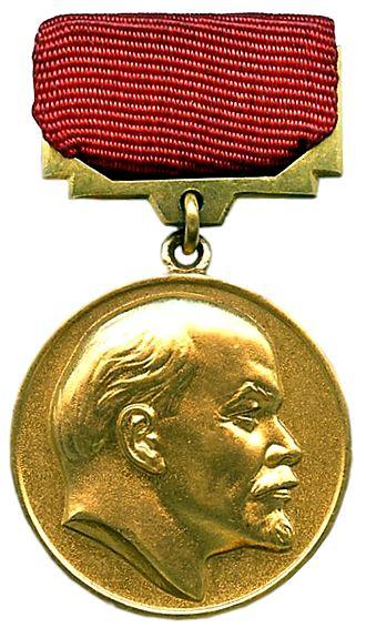 Lenin Prize - Lenin Prize badge