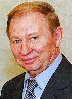 Leonid Kuchma Second president of Ukraine
