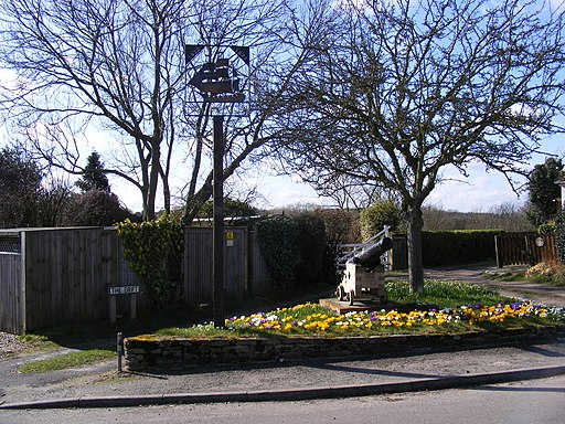 Levington Village Sign - geograph.org.uk - 1188022