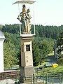 Lhotka (okres Prerov) - socha Panny Marie s Ježíškem.JPG
