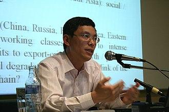 Li Minqi - Li Minqi speaking on Subversive Festival (2009)