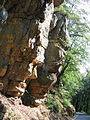 Lias sandstone rock near pruemzurlay germany.jpg