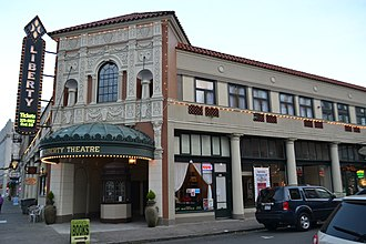 National Register of Historic Places listings in Clatsop County, Oregon - Image: Liberty Theatre 1 (Astoria, Oregon)