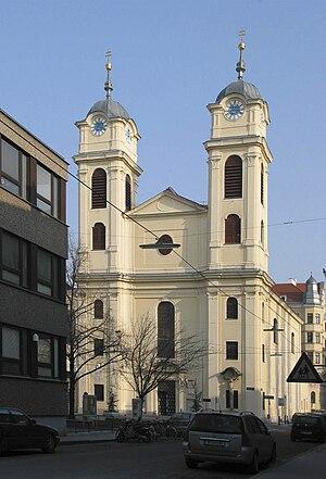 Mass No. 1 (Schubert) - Lichtental Parish Church. The mass was composed for the church's centennial.