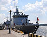 Lietuvos kariuomenės jūrų pajėgų laivai 2013 m.JPG