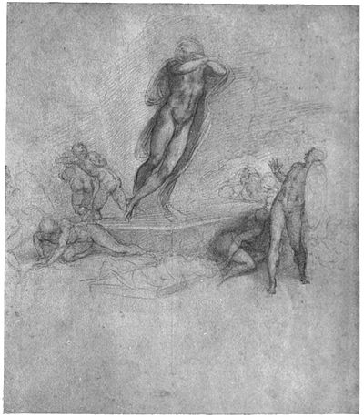 """The Resurrection. From a drawing in the British Museum"""