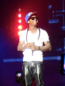 Description de l'image  Lil Wayne in Concert.jpg.