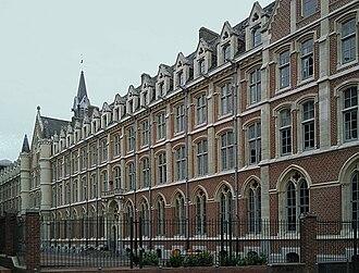 Lille Catholic University - Image: Lille catho cour