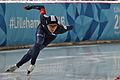 Lillehammer 2016 - Speed skating Men's 500m race 1 - Jae Woong Chung.jpg