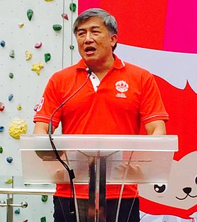 Lim Teck Yin Singaporean CEO, athlete and soldier