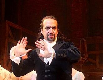 Hamilton (musical) - Lin-Manuel Miranda as Hamilton