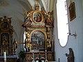 Linden Filialkirche Sankt Maria und Maternus rechter Seitenaltar.jpg