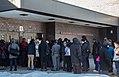 Line to Enter Community Forum on Black America -BlackForumMN at Patrick Henry High School (24999352705).jpg