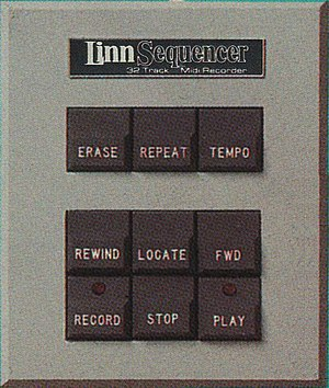 LinnSequencer - Image: Linn Sequencer hardware MIDI sequencer remote control 300dpi
