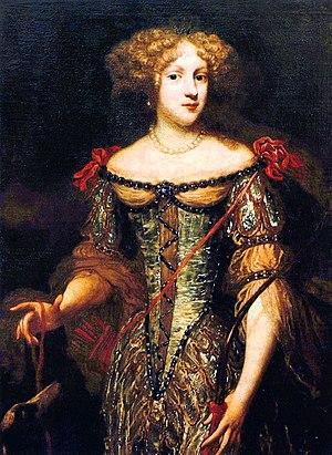 House of Bourbon-Montpensier - Elizabeth Charlotte, Princess Palatine, the wife of Philippe de France duc d'Orléans duc de Montpensier
