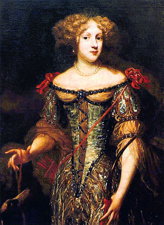 House of Bourbon-Montpensier - Elizabeth Charlotte, Princess Palatine, the wife of Philippe de France duc d'Orléans duc de Montpensier