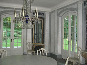 Liselund - Liselund: dining hall