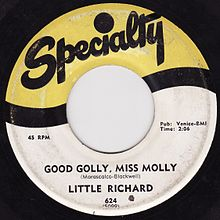 Spéciality , label de Little Richard .
